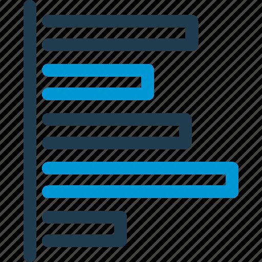 chart, curve, diagram, graph, infographic, statistics, vertical icon