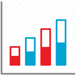analytics, business, chart, diagram, graph, marketing icon