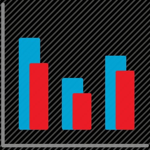analysis, analytics, chart, diagram, graph, mobile icon