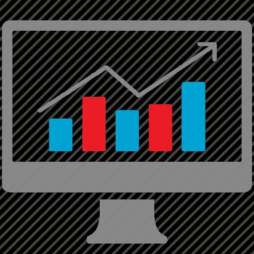 analysis, analytics, chart, diagram, finance, graph icon