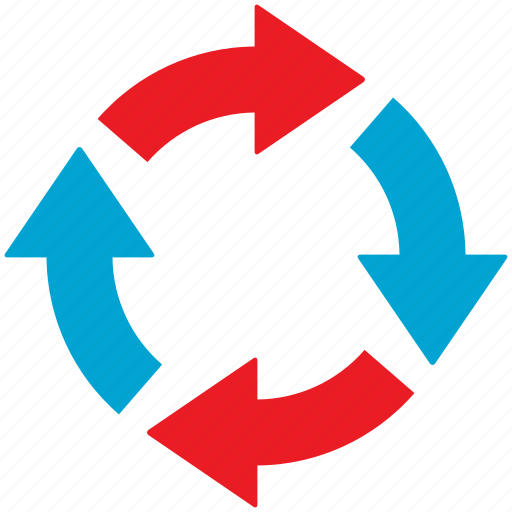 recycle, refresh, renew, rotate icon