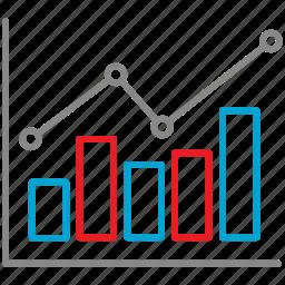 analytics, chart, diagram, finance, graph, growth icon