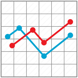 business, chart, finance, graph, growth icon