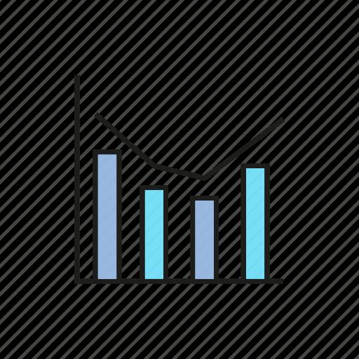 bar chart, business, chart, data, finance, graph, stats icon