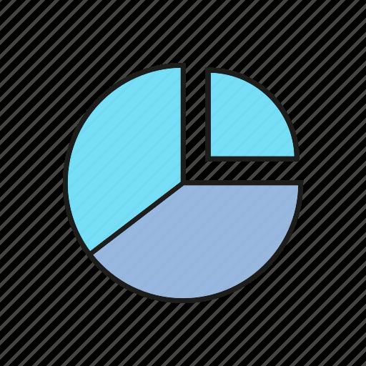 business, chart, data, finance, graph, pie chart, stats icon