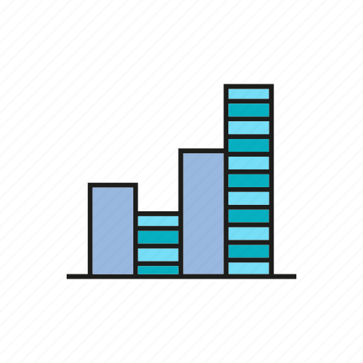bar chart, business, chart, data, finance, graph, stats icon