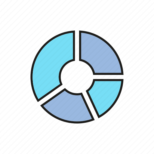 business, chart, data, finance, graph, pie chart, stats icon