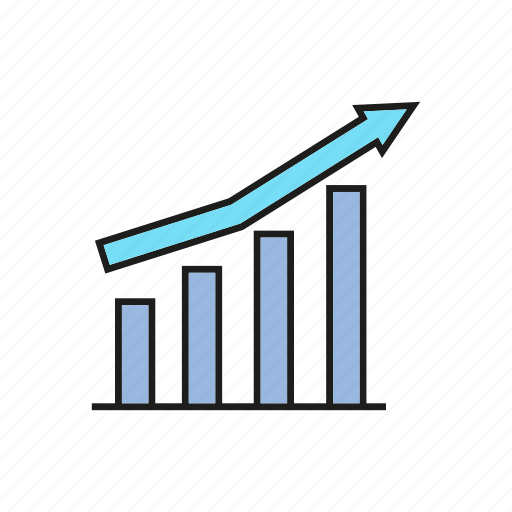 business, chart, data, finance, graph, growth, stats icon