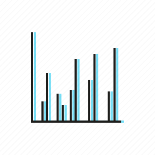 business, chart, data, finance, graph, plot, stats icon