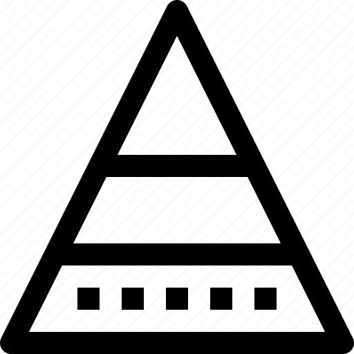 account, analyst, bar, business, chart, corporate, data, graph, management, pyramid, stats icon