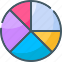 analysis, chart, graph, pie, planning icon