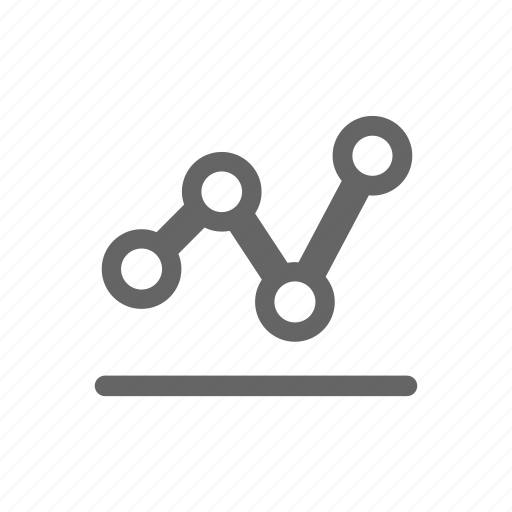 charts, diagram, dots, graph, graphs icon