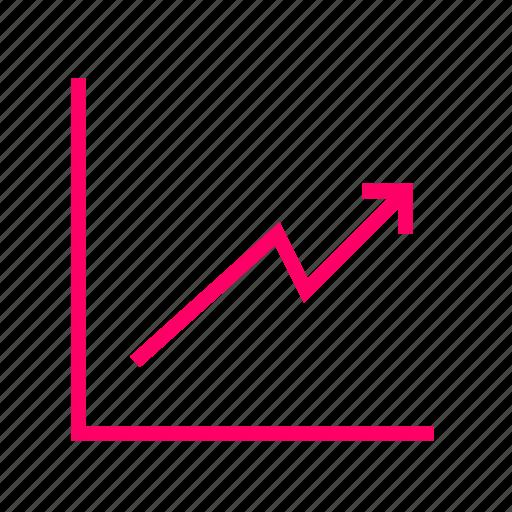 analytics, chart, data, diagram, draft, flowchart, graph icon