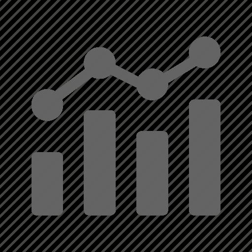 analysis, data, graph, growth icon