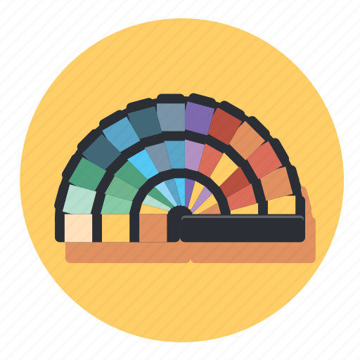 card, color, design, pallet, tool icon