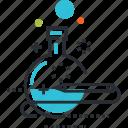 market, trend, analytics, analysis, research, lab, laboratory icon