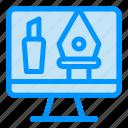 computer, crop, editing, tools icon