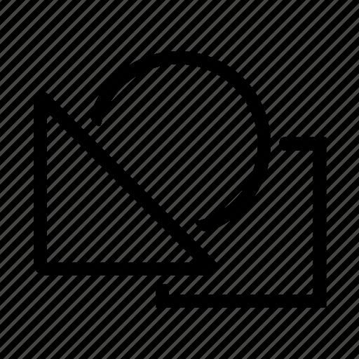 circle, creative, design, editor, graphic, shape icon