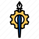 edit, pen, tool icon