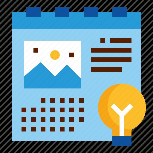 calendar, date, design, schedule, time icon