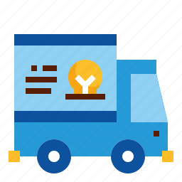 car, design, transportation, truck, wrap icon