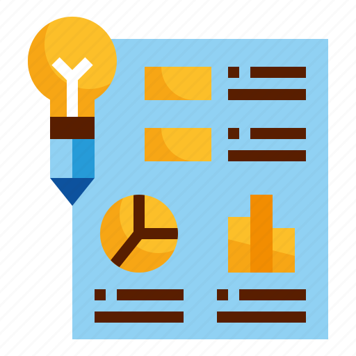 design, graph, idea, info, infographic icon