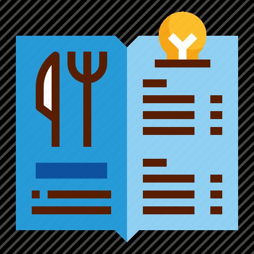 design, food, menu, restaurant icon