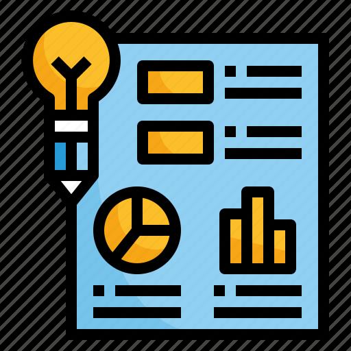 design, graph, idea, info, infographic icon