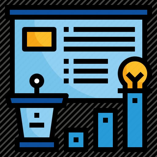 booth, design, presentation, show icon