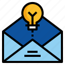 design, email, envelope, letter icon