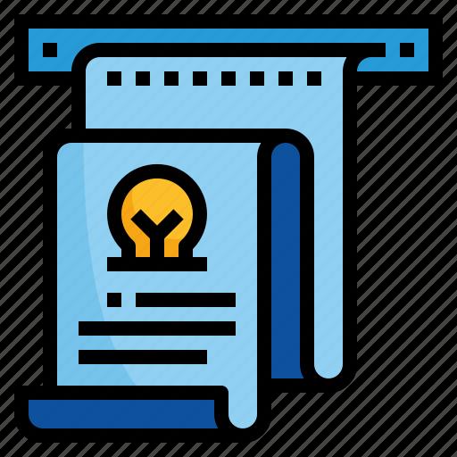 design, fax, output, print, printer icon