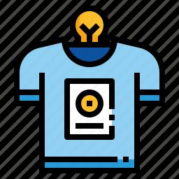 clothes, design, shirt, tshirt icon
