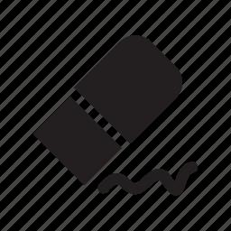 design, eraser, graphic, stationary, tool icon