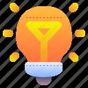 ideas, idea, light, bulb, electricity