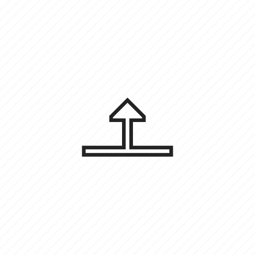 arrow, resize, up icon