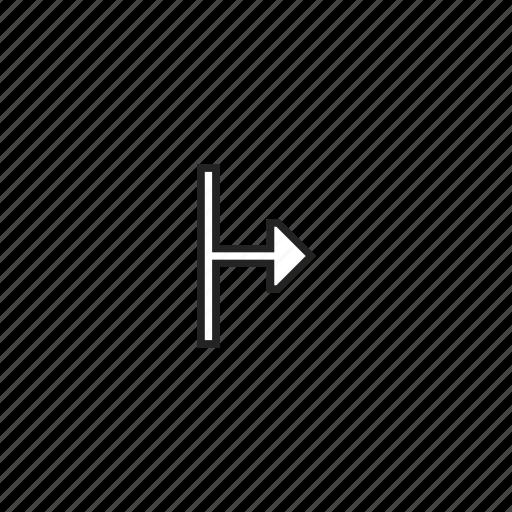 arrow, cursor, resize, right icon