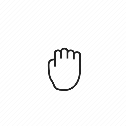 cursor, gesture, grab, grabbing, hand, hold icon