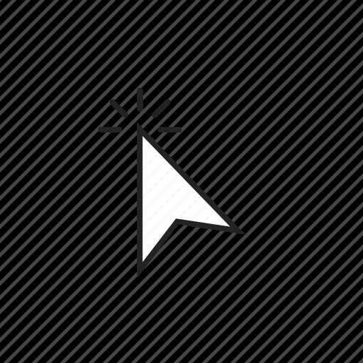 click, cursor, double, pointer, press, tap icon