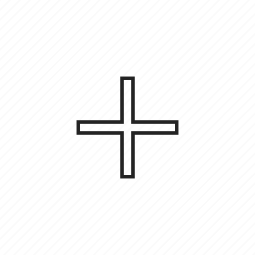 aim, cross, crosshair, cursor, pointer, target icon
