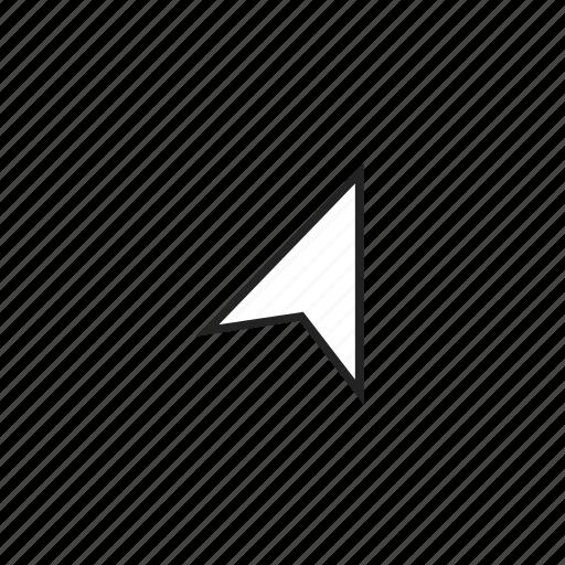 alternative, arrow, arrowhead, cursor, mouse, pointer icon