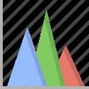analytics, area, charts, finance, graph, mathematics, statistics icon