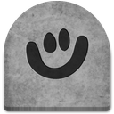 boo, cold, creepy, evil, ghosts, grave, graveyard, gray, grey, halloween, media, october, rock, scary, smile, social, social media, spooky, stone, tomb, tombstone, witch icon