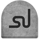 boo, cold, creepy, evil, ghosts, grave, graveyard, gray, grey, halloween, logo, media, october, rock, scary, social, social media, spooky, stone, stumbleupon, tomb, tombstone, witch icon