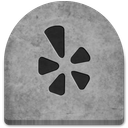 boo, cold, creepy, evil, ghosts, grave, graveyard, gray, grey, halloween, media, october, rock, scary, social, social media, spooky, stone, tomb, tombstone, witch, yelp icon