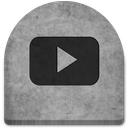boo, cold, creepy, evil, ghosts, grave, graveyard, gray, grey, halloween, media, october, rock, scary, screen, social, social media, spooky, stone, technology, tomb, tombstone, witch, youtube icon