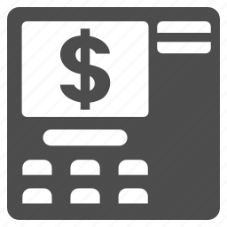 atm withdraw, bank, banking, cash machine, dollar, pay out, payment terminal icon