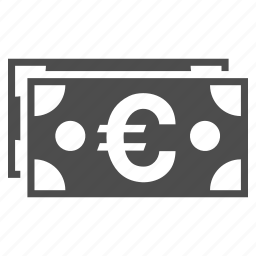 bank notes, business, cash, eur currency, euro banknotes, european money, finance icon