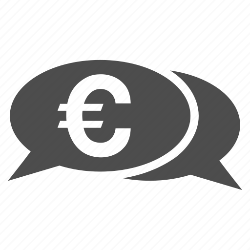 blog, comment, communication, euro chat, forum, messages, talk icon
