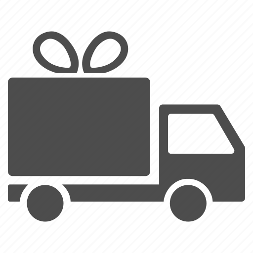 cargo taxi, free service, gift delivery, logistics, shipment, shipping, transportation icon