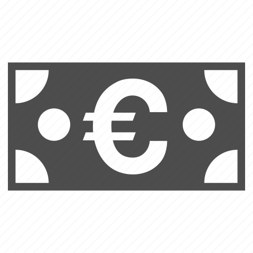 cash, currency, euro banknote, finance, financial, money, payment icon